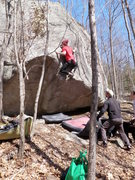 Rock Climbing Photo: Purgatory is a classic line that sees few repeats ...