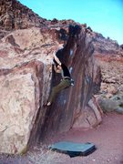 Rock Climbing Photo: Calico Basin
