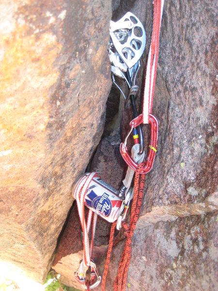 Rock Climbing Photo: PBR me!