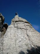 Rock Climbing Photo: Ranger Brad answers the call of the Meadowlark on ...