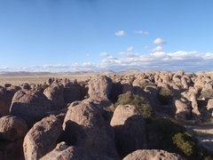 Rock Climbing Photo: Endless possibilities