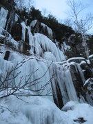 Rock Climbing Photo: Lietuva, WI4+ M?, 25m (85ft) 2010-12-29