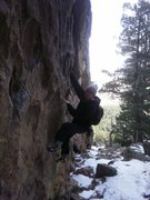 Rock Climbing Photo: The South face of the Spy has a fun bouldering wal...