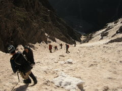 Rock Climbing Photo: The Bell Cord (Maroon Peak)
