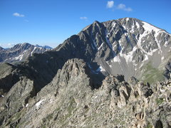 Rock Climbing Photo: Ellingwood Ridge (La Plata)
