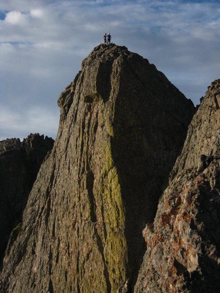 East summit of Crestone Peak