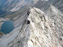 Climbing the Ridge Direct Route (Capitol Peak)
