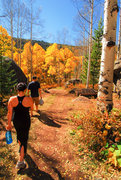 Rock Climbing Photo: Hiking through the Klettergarden after a quick ses...