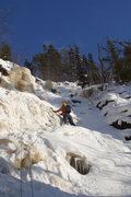 Rock Climbing Photo: Ice Invaders WI2, 45m