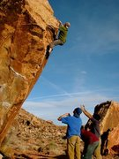 Rock Climbing Photo: NorMN on Fear of a Black Hat.