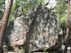 Rock Climbing Photo: How about them BOULDERS, huh? also there are quite...