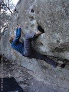Rock Climbing Photo: Abase thyself!