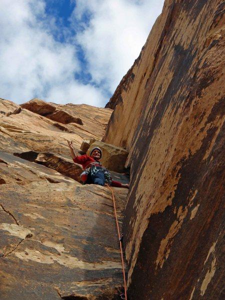 Rock Climbing Photo: Remote control bottom layback