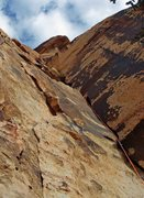 Rock Climbing Photo: High up remote control