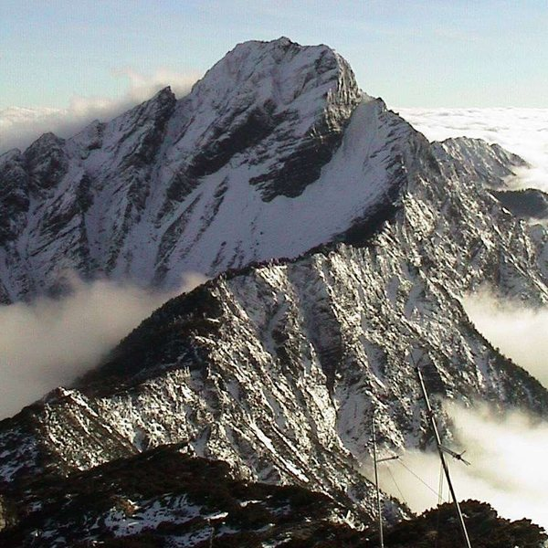 Rock Climbing Photo: Yushan, the highest mountain in Taiwan, sees a lot...
