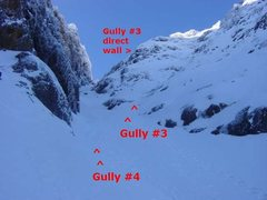 Rock Climbing Photo: Start of Gully #3 and #4