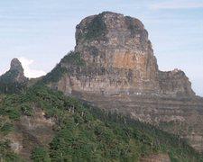 Rock Climbing Photo: Mt Dabajian viewed from the east