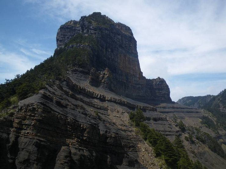 Rock Climbing Photo: Mt Dabajian viewed from the south east