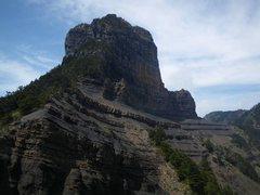 Rock Climbing Photo: Mt Dabajian viewed from the south east