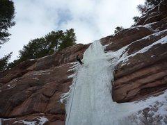 Rock Climbing Photo: Redstone Pillar.