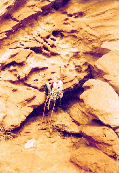 Rock Climbing Photo: Project - Breaking the Law (5.10?) - Day 2  Scotty...