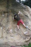 Rock Climbing Photo: Seeking out, or trying to, the correct way to star...
