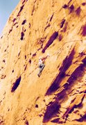 Rock Climbing Photo: Project - Breaking the Law (5.10?) - Day 2  contin...