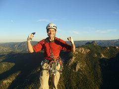 Rock Climbing Photo: Summit of Cynical Pinnacle '07.
