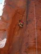 Rock Climbing Photo: Stemming
