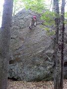 Rock Climbing Photo: Tim cruising.