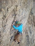 Rock Climbing Photo: another of the last pitch
