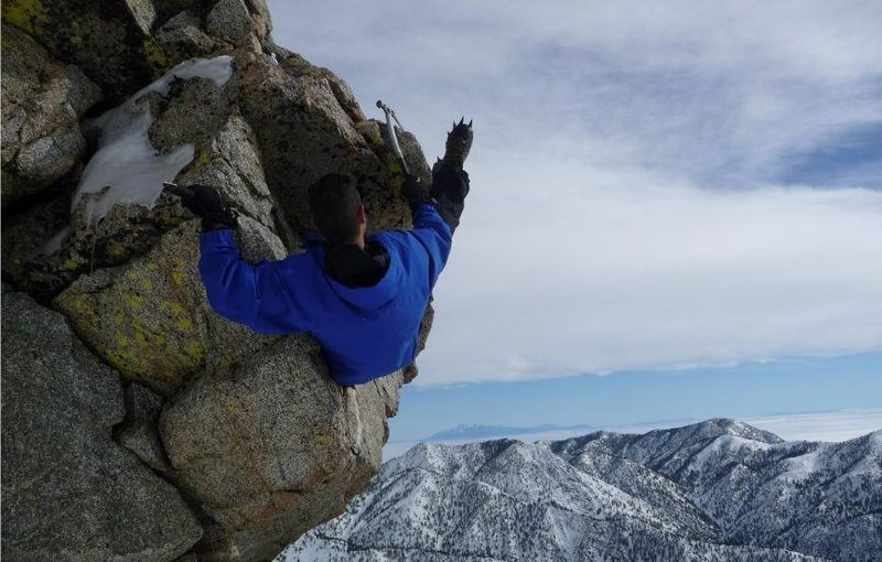 Rock Climbing Photo: Mt. San Antonio/Mt. Baldy