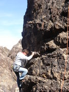 Rock Climbing Photo: There Goes the Neighborhood (5.8), NJC