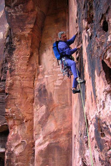 Rock Climbing Photo: Stone in Zion?