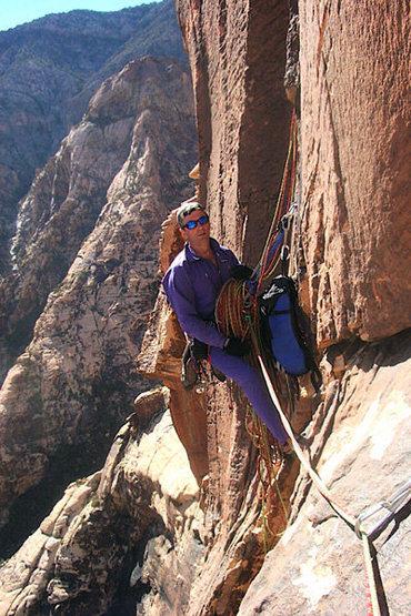 Rock Climbing Photo: Stone in the desert.