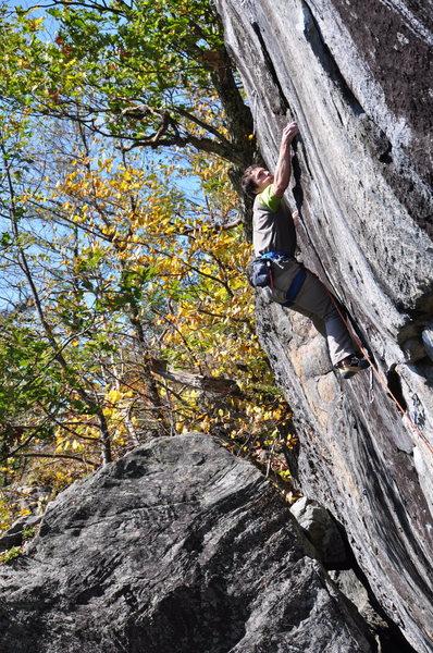 Rock Climbing Photo: china glide 2