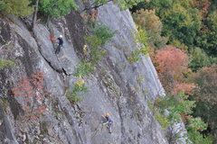 Rock Climbing Photo: unknown team at cathedral