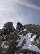 Rock Climbing Photo: moving easy