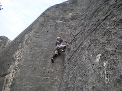 Rock Climbing Photo: tounge river canyon