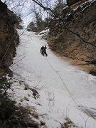 Rock Climbing Photo: post creek falls