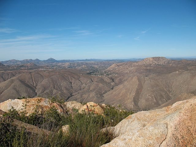 Rock Climbing Photo: The view from the top, Eagle Peak