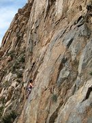 Rock Climbing Photo: Winter climbing in San Diego, Eagle Peak
