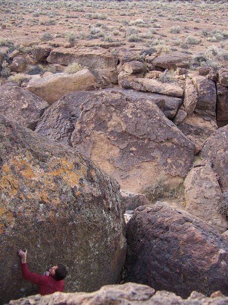 Rock Climbing Photo: The Black Stuff