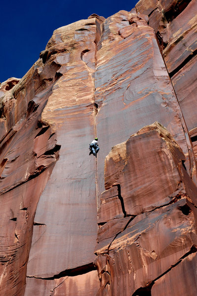 Rock Climbing Photo: Super Crack