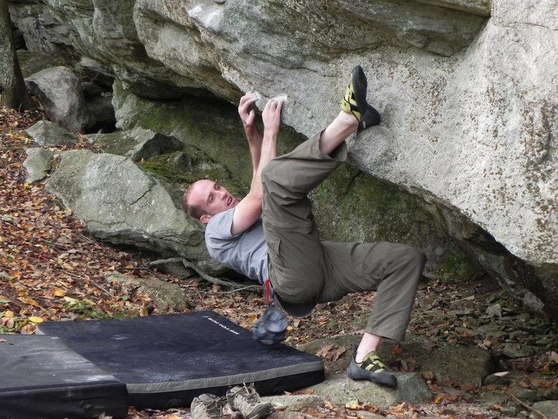 Rock Climbing Photo: Start to Britney Spears.