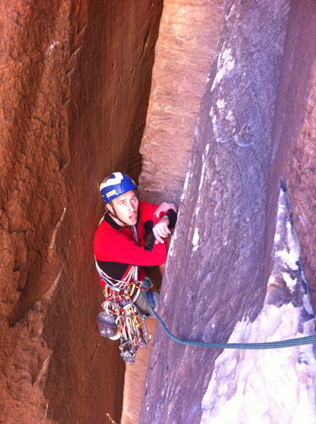 Rock Climbing Photo: Dude, That was a grunt!