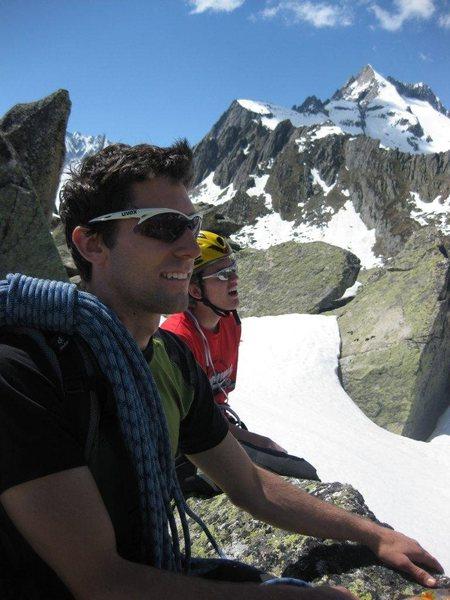Rock Climbing Photo: Gravitation force of Salbit (Switzerland)
