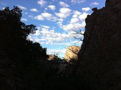 Rock Climbing Photo: The Black