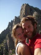 Rock Climbing Photo: Top of The Bastille