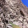 Fresh rock near Gunnison